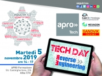 TECH DAY #4 REVERSE ENGINEERING - 5/11/19