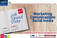 Job Speed Date ALBA - 15 MARZO 2019 - Ore 14.30
